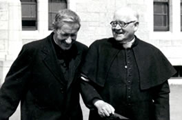 Bishop Galvin and Fr. Blowick founders
